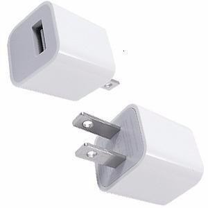 cargador pared usb blanco iphone 4 cel 4s tabletas us 5s lte