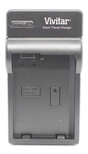 cargador pila bateria  nikon en el14 d5300 d5600 d3500 vivi