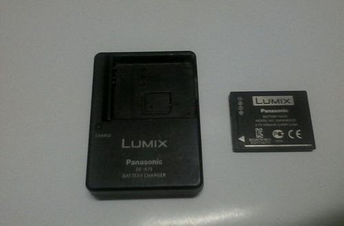 cargador + pila lumix panasonic