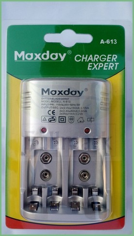 cargador  pilas aaa, aa y bateria 9 volt   oferta