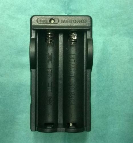 cargador pilas baterias