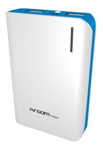 cargador portatil 10000 ma argom power bank iphone x s8 s9