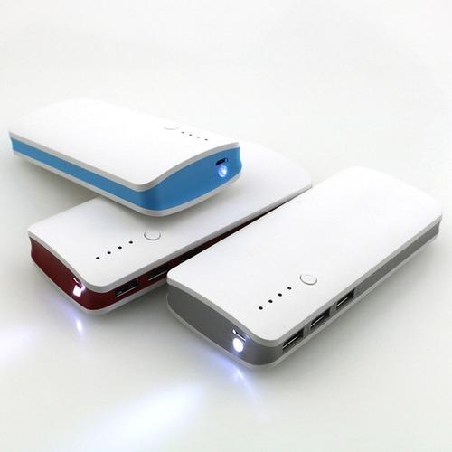 cargador portatil 20000mah grande iphone y android  oferton