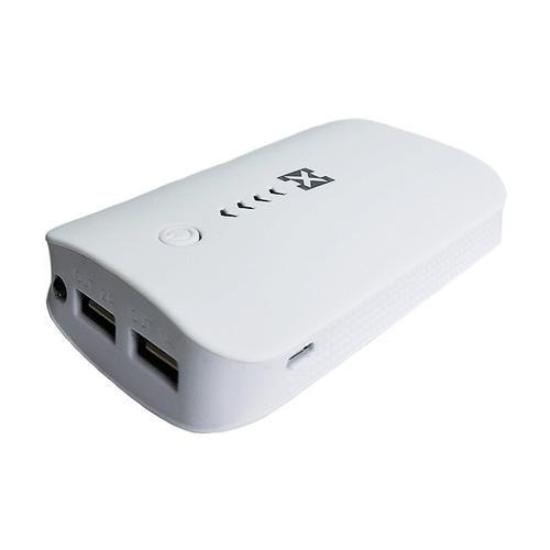 cargador portatil 8000mah hxp003 real con luz led  - marstec