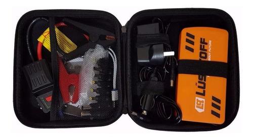 cargador portatil arrancador auto celular lusqtoff pi300 led