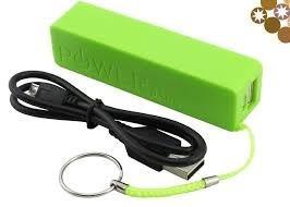 cargador portatil celulares