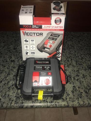 cargador portatil de baterias de carro moto lancha