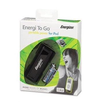 cargador portatil energizer para ipod con 2 pilas aa lithium
