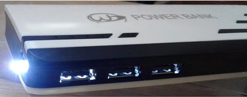cargador portatil iphone, ipad y samsung galaxy 30,800 mah