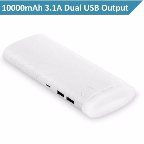 cargador portátil, paquete de copia de seguridad amemo 10000