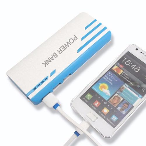 cargador portatil power bank 16800mah 3 usb
