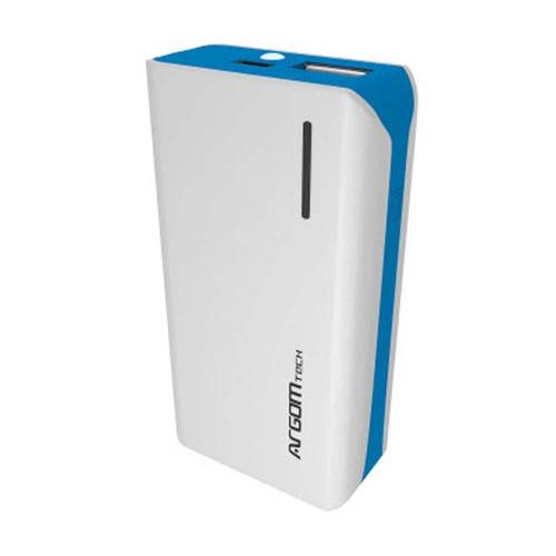 cargador portatil power bank 5000 ma argom carga rapida 2.1a