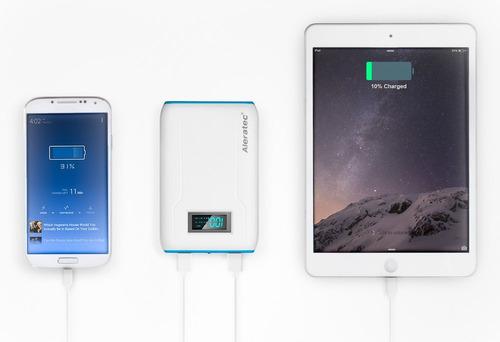 cargador portatil power bank 8800mah 2 usb 2.1a+1.0a lcd