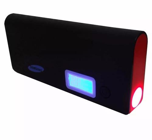 cargador portatil power bank samsung  12000 mah somos tienda