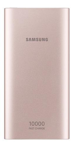cargador portátil samsung battery pack dorado 10000 mah nuev