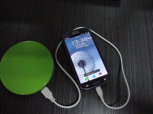 cargador portatil solar universal 1800mah celular ipod gps