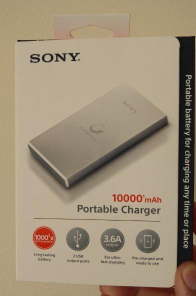 21570baf2d4 Cargador Portatil Sony 10000 Mah Nuevo Carga Rapida Metal - S ...