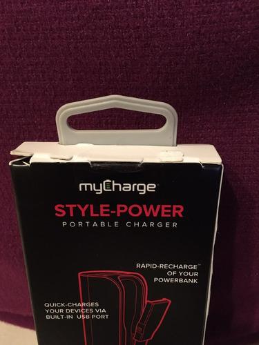 cargador portátil style power