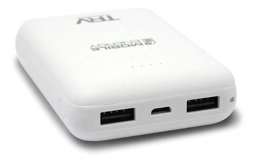 cargador portátil trv 10mil mah carga rapida +cab. micro usb