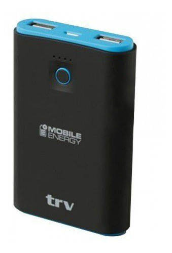cargador portatil trv energy power bank 7800mah x 2 usb