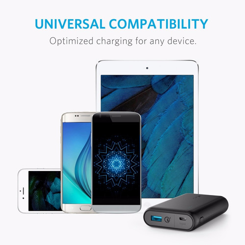 cargador portatil turbo power motorola g4 g5 g6 g7 plus 8000mah power bank quick charge 3.0