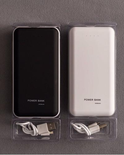 cargador portatl 20000 mah celular tablet garantia 1 año