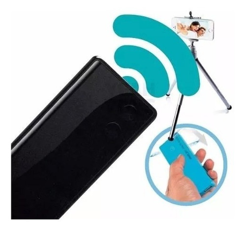cargador power bank + shooter selfie iphone android ramos