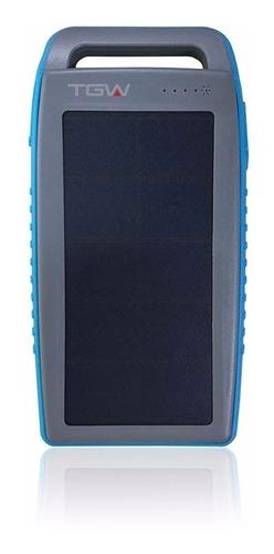 cargador - powerbank solar 10000 mah de celulares  tgw