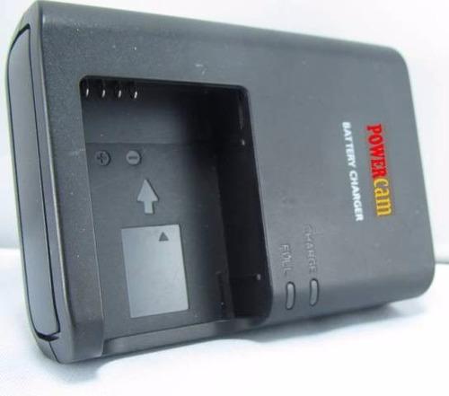 cargador powercam lc e12 para pila canon lp e12 eos m m2
