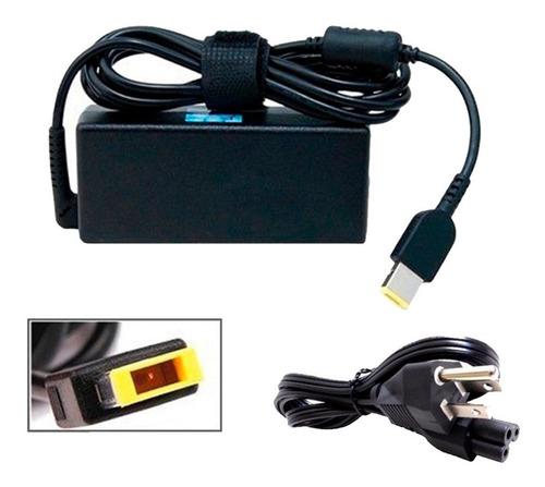 cargador premium lenovo 20v, 2.25a, usb (10534)