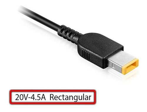 cargador premium lenovo 20v, 4.5a, usb (10414)