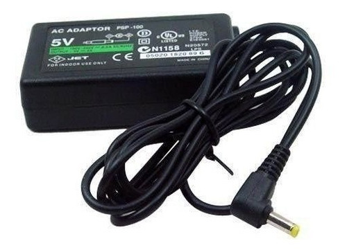 cargador psp sony 220v - 5v para psp fat slim | maxtech