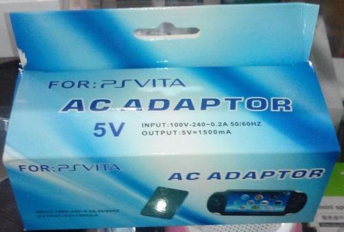 cargador psvita ac adaptador 5v