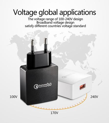 cargador  qualcomm 3.0 carga super rapida + cable tipo c.