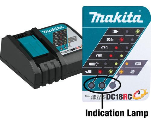 cargador rapido 18v 3.0 ah original makita dc18rc