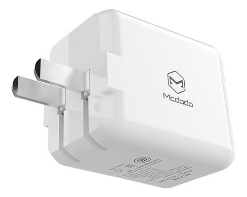 cargador rápido 28w, doble usb 10 w + pd 18w iphone 11/pro
