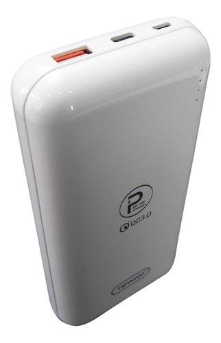 cargador rápido portátil recargable usb power bank 20000mah