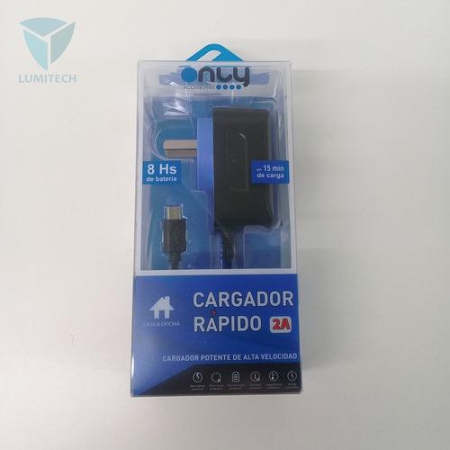 cargador rápido premium ea-94 - carga rapida v8