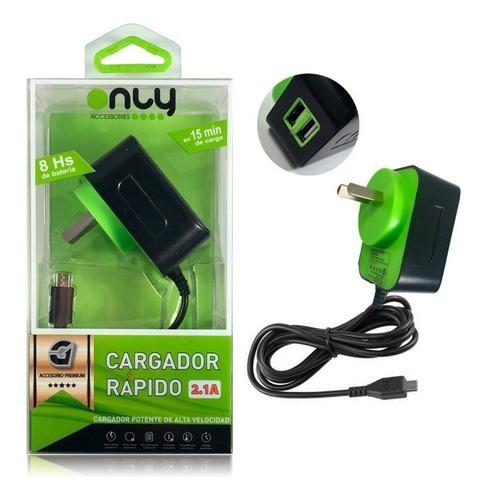 cargador rápido premium xiaomi redmi 6 5a note 4 5 pro plus