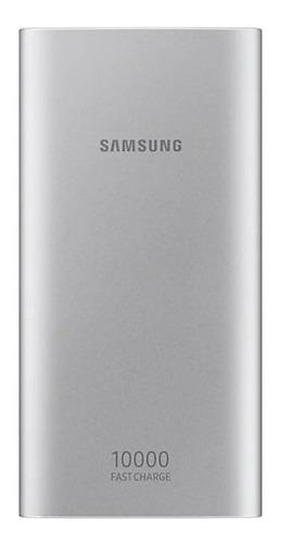 cargador rapido samsung battery pack silver eb-p1100 tipo-c