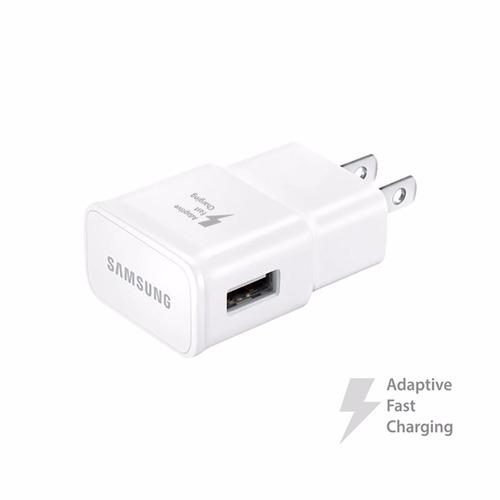cargador rápido samsung original s6 s7 edge + cable usb