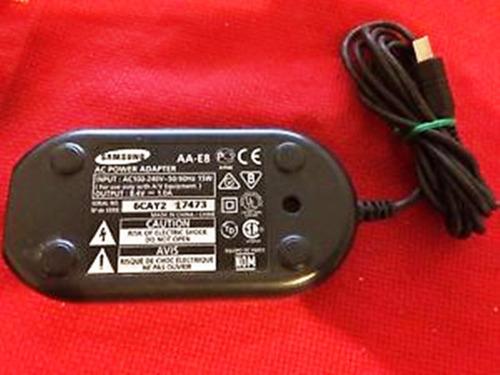 cargador samsung aa e8 aae8 genuino para filmadora sc-d364