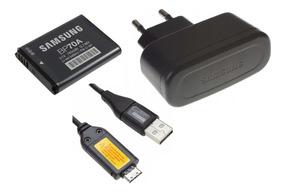 Cargador de batería Samsung BP70A AQ100 ES30 ES65 ES70 ES71 ES73 ES74 ES75