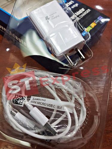 cargador samsung carga rapida triple aaa  s5 s6 s7 note