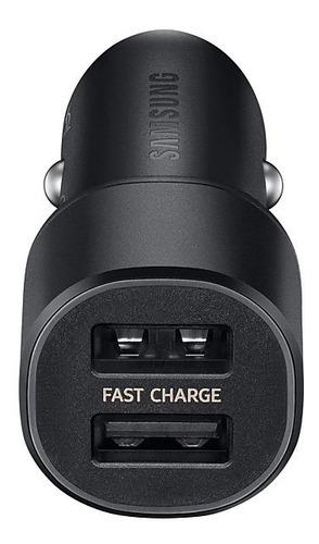 cargador samsung ep-l1100 duo ultrafast para autos usb