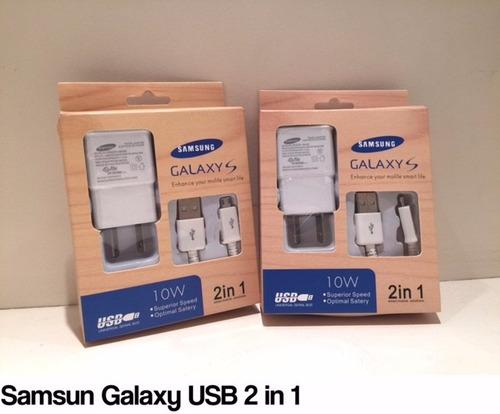 cargador samsung original micro usb s4 s3 mini s2 ace core