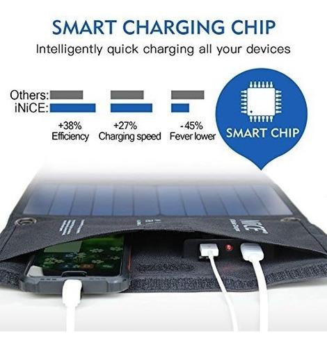 cargador solar 28w cargador de telefono solar portatil panel