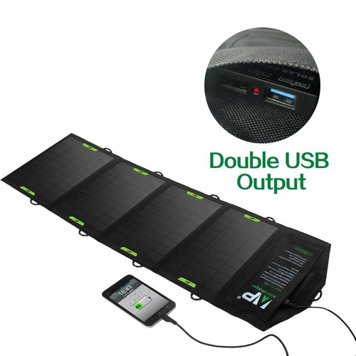 cargador solar allpowers solar foldable charger 16w