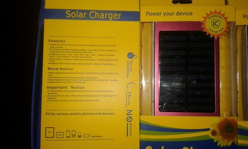 cargador solar oferta 10000 mah nuevo