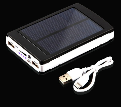 cargador solar power bank 22000 para celular